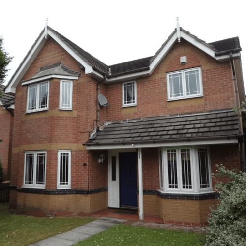 A semi detached property near Hamworthy
